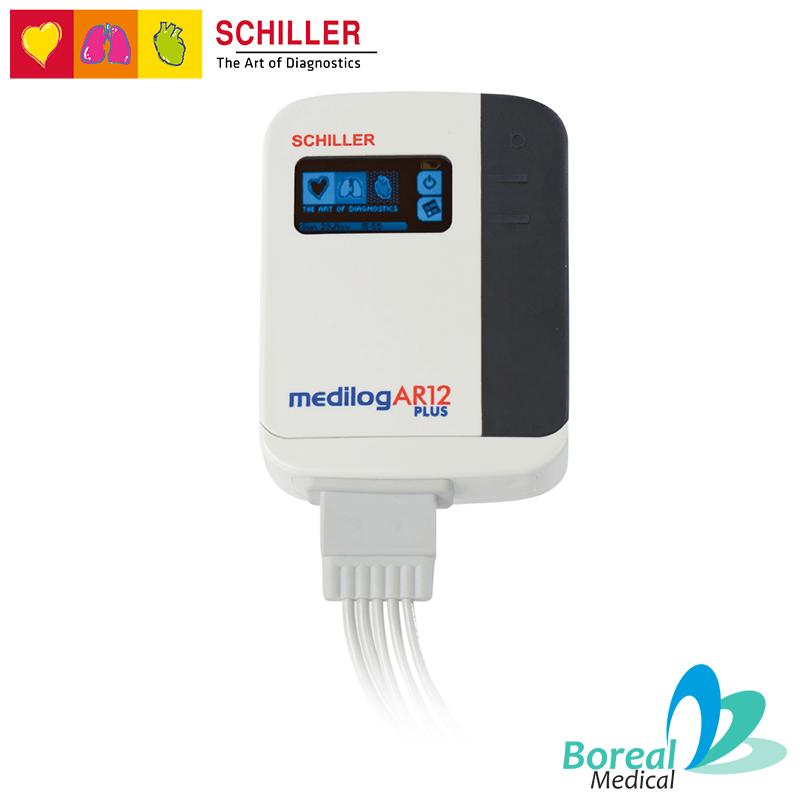 Medilog AR12 Plus de Schiller Vista Frontal