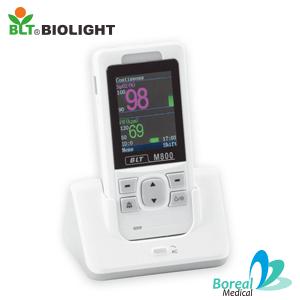 Biolight BLT M800 Oxímetro de pulso con ECG